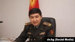 Куралдуу күчтөрдүн Башкы штабынын башчысы Жаныбек Капаров.