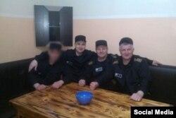 Экс-мэр Благовещенска Александр Мигуля, Павел Зимин и Андрей Налетов в колонии №8