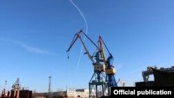 Крим, Керч, суднобудівний завод «Залив»