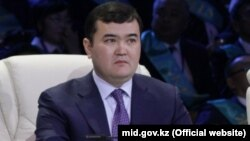 Жеңіс Қасымбек, Қазақстан инвестиция және даму министрі.