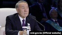 Қазақстан президенті Нұрсұлтан Назарбаев. Астана, 6 желтоқсан 2017 жыл.