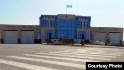 Пункт пропуску на кордоні Казахстану і Туркменистану