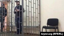 Алі Асанов на засіданні Верховного суду Криму, 30 листопада 2015 року