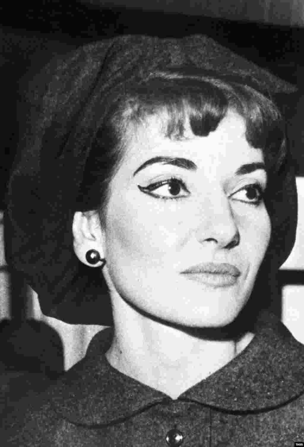 Callas, considered both a diva and a fashion icon, on June 19, 1961