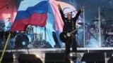 Российский певец Денис Майданов на концерте к пятилетию аннексии Крыма в Симферополе