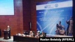 Қазақстан тарихшыларының үшінші конгресі. Астана, 2 қазан 2015 жыл