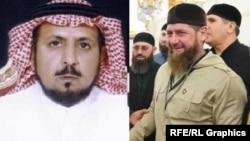 Салех ибн Баз и Рамзан Кадыров (коллаж)
