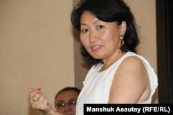 Айна Шорманбаева, президент фонда «Международная правовая инициатива». Алматы, 21 июля 2016 года