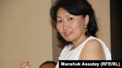 Айна Шорманбаева, глава неправительственной организации «Международная правовая инициатива».
