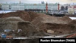 Проспект Добролюбова в Санкт-Петербурге, где располагался ГИПХ