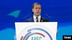 Дмитрий Медведев на саммите Азиатско-Тихоокеанского экономического сотрудничества (АТЭС)