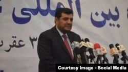 محمد یونس مهمند معاون اتاق تجارت و صنایع افغانستان