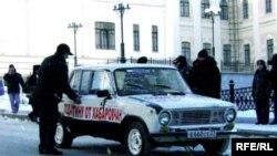 «Подарок» хабаровчан Владимиру Путину