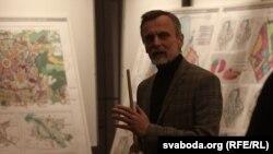 Галоўны архітэктар «Менскграда» Аляксандар Акенцьеў