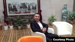 Гусман Кажытай, руководитель анимационной компании «Абай жолы», снимающей многосерийный фильм «Детство Абая».
