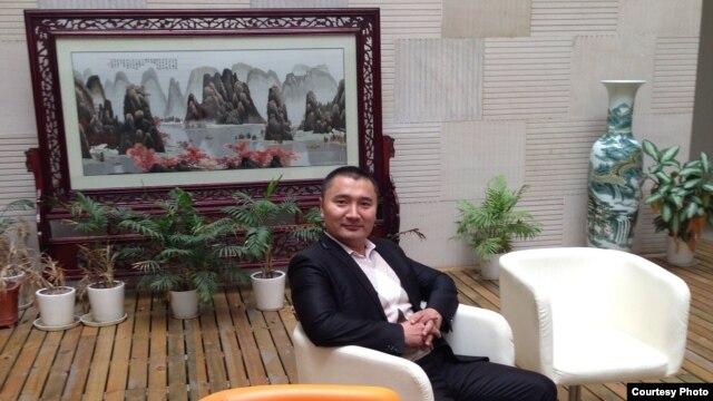 Қытайдағы «Абай жолы» анимациялық компаниясының жетекшісі Ғұсман Қажытай.