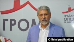 Лидерот на ГРОМ Стевчо Јакимовски