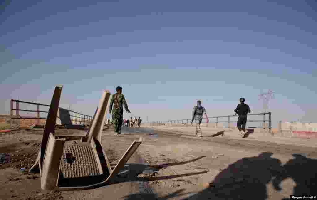 پل ارتباطی کرکوک به شهر حویجه: مرز «مکتب خالد».