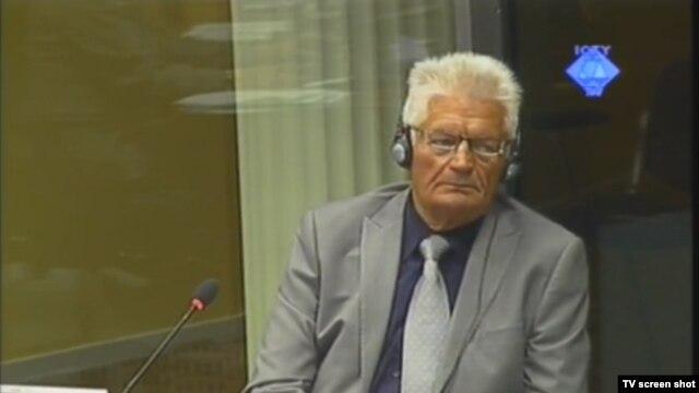 Svjedok Osman Selak u sudnici 25. rujna 2012.