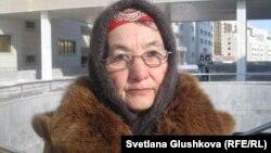 Тараздан келген Хадиша Кәрібаева. Астана, 25 ақпан 2013 жыл.