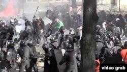 Ukraynada etiraz nümayişi
