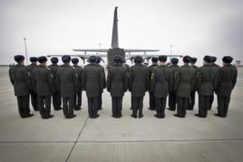 Харьков, траурная церемония перед отправкой тел погибших в катастрофе