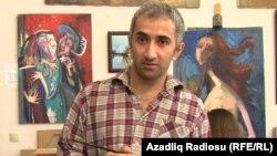 Azerbaijan. Baku. Painter Emin Gahramanov