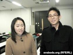 Яны гавораць па-беларуску: Сіоры Кіёсава і Юсукэ Касівагі