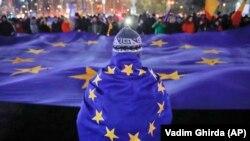 La protestul de la București la 3 decembrie