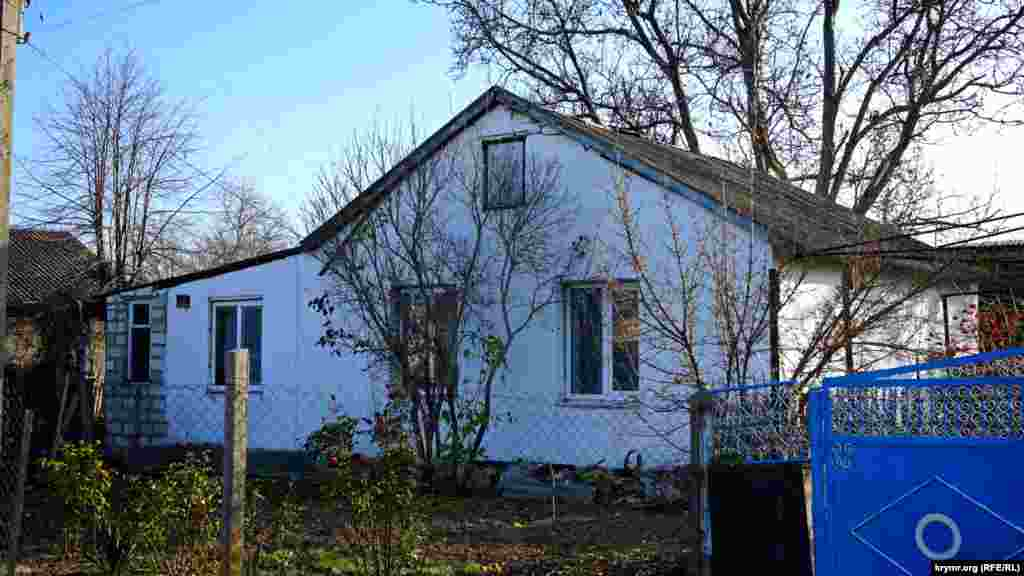 «Переселенческий» дом дочери Адамцевича Татьяны, где последние полгода жил кобзарь. Сейчас в нем живет семья его правнучки Виктории Парижан.