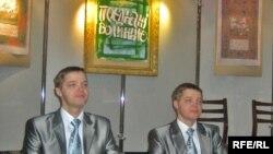 Автори криги «Поєднані Волинню»: брати Олександр та Віктор Булиги