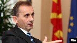 Министерот за животна средина и просторно планирање Абдулаќим Адеми.