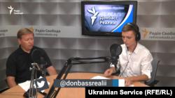 Геннадий Рябцев в студии «Донбасс.Реалии»