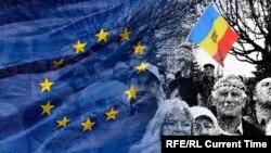 Moldovadakı etirazlar, arxiv fotosu