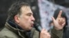 WATCH: Dozens of Ukrainian police raided a protest camp outside the parliament building in Kyiv early on December 6 in a failed attempt to detain Mikheil Saakashvili, the former Georgian president turned Ukrainian opposition leader. (Reuters/1+1 Channel)