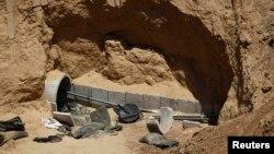 Один из туннелей, постренных ХАМАС (архивное фото).