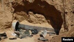 Один из туннелей, постренных ХАМАС (архивное фото)