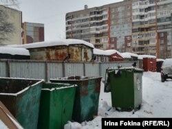 Контейнерная площадка в Архангельске