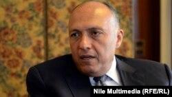 Ministri i jashtëm i Egjiptit, Sameh Shoukry - Arkiv