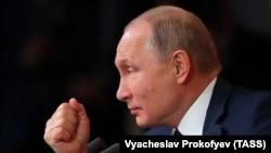 Президент Росії Володимир Путін, Москва, 19 грудня 2019 року