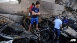 Бакубада 24-июнда болгон жардырууда да кеминде 14 киши мерт кеткен. 24-июнь, 2015-жыл