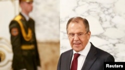 Russian Foreign Minister Sergei Lavrov (file photo)