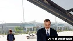 Ильхам Алиев на открытии Baku Crystal Hall