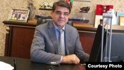 Председатель Ассоциации международных экспедиторов Узбекистана, доктор наук, бизнесмен Хоким Матчанов.