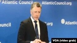 Cпеціальний представник Держдепартаменту США у справах України Курт Волкер