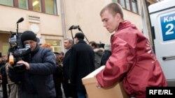 Михаил Касьянов привез в Центризбирком, по его подсчетам, 4 процента голосов избирателей