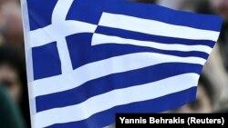 Флаг Греции. Иллюстративное фото.