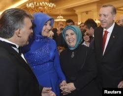 Abdullah Gul və Recep Tayyip Erdoğan