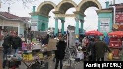 Акмәчетнең үзәк базарының капкасы