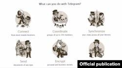 Reţeaua Telegram a dat publicităţii o declaraţie în care se distanţează de propaganda răspîndită de fundamentalişti.